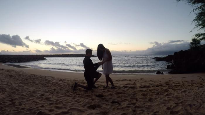 Marriage Proposal Ideas in Hawaii