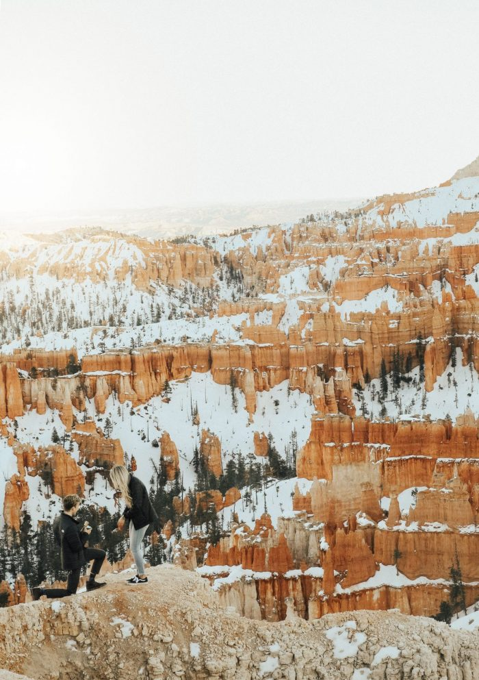 Chantel and Cole's Engagement in Bryce Canyon National Park