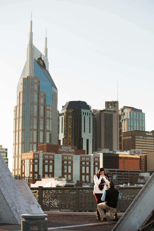 Marriage Proposal Ideas in Nashville, Tennessee