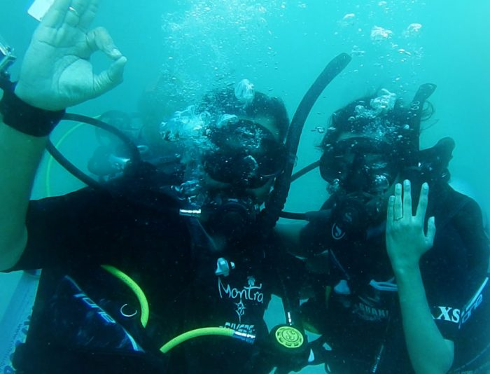 Aaditi's Proposal in Underwater, Koh Tao, Thailand