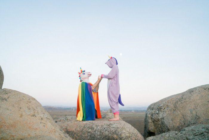 Unicorn Engagement PHotos