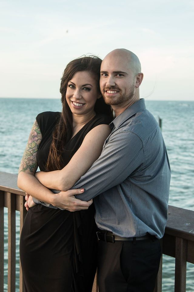 Angela and Michael's Engagement in Pier 60, Clearwater, FL