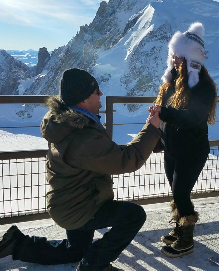 Where to Propose in Chamonix, France