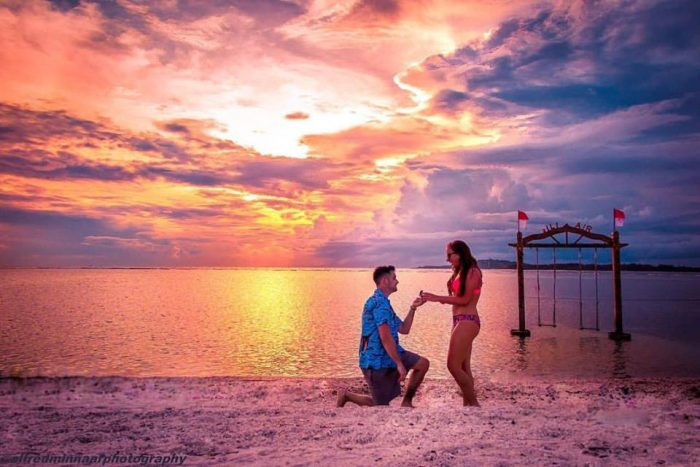 Alyssa's Proposal in Gili Air, Indonesia