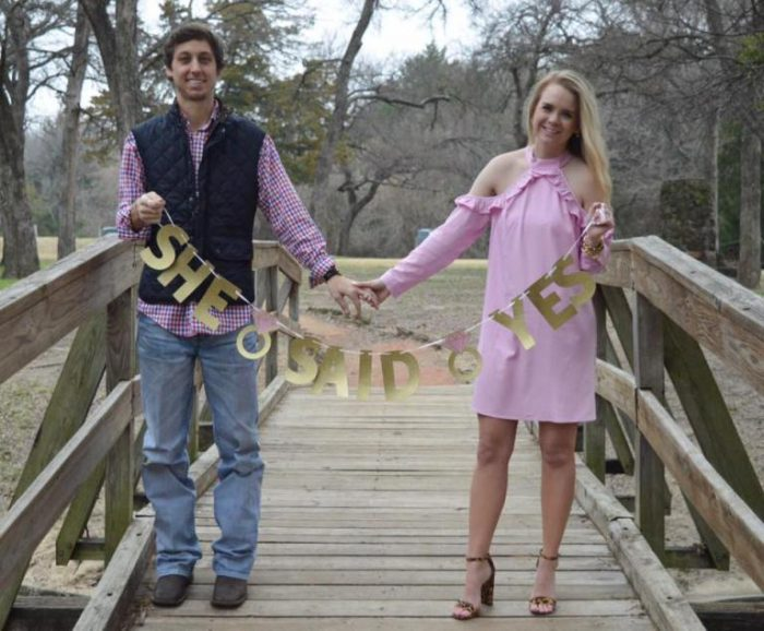 Marriage Proposal Ideas in Grapevine Nature Center