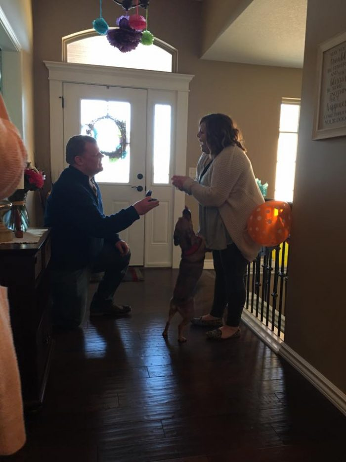 Engagement Proposal Ideas in Surprise Birthday Party in Wichita, KS