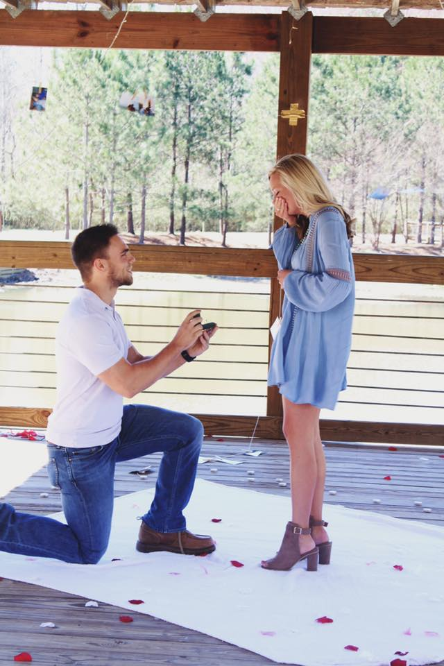 McKenna and Jake's Engagement in Auburn, Alabama
