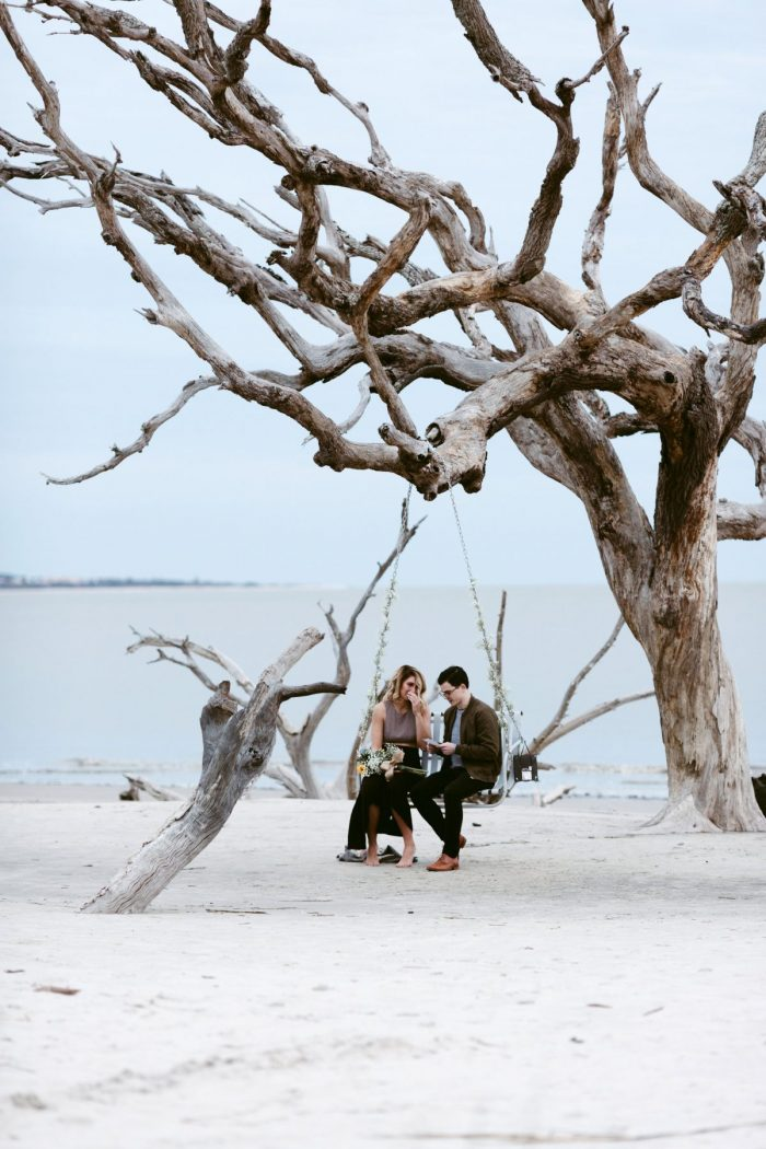 Summer and Tanner's Engagement in Jekyll Island Ga
