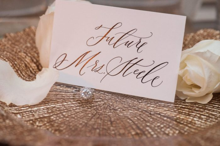 Engagement Proposal Ideas in Hawksworth Restaurant, York Room