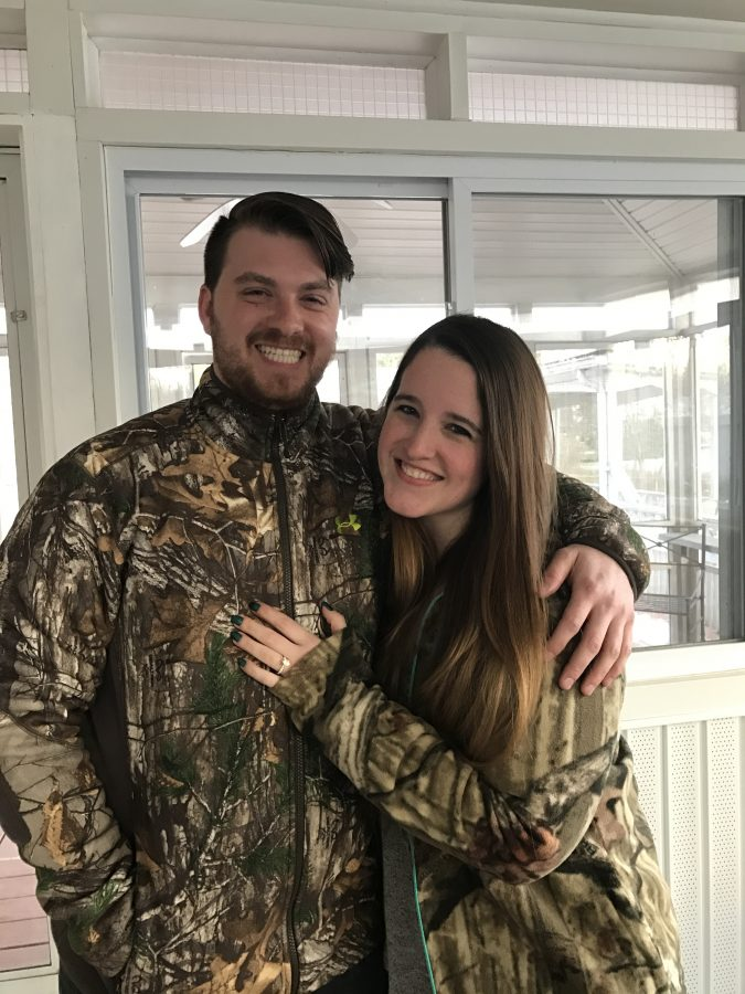 Mary's Proposal in Lehigh Valley Sporting Clays Shooting Range, Coplay, PA