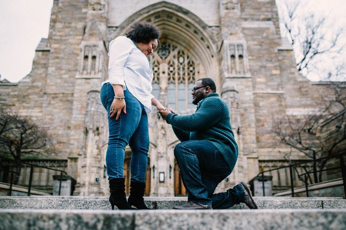 Marriage Proposal Ideas in Yale University, Connecticut
