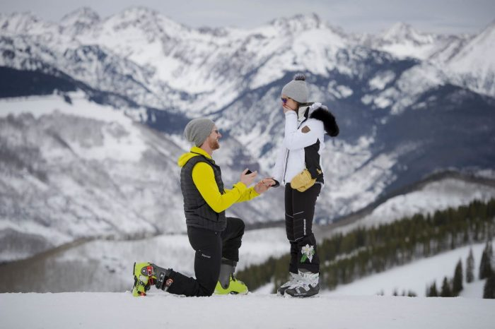 Marriage Proposal Ideas in Vail, Colorado