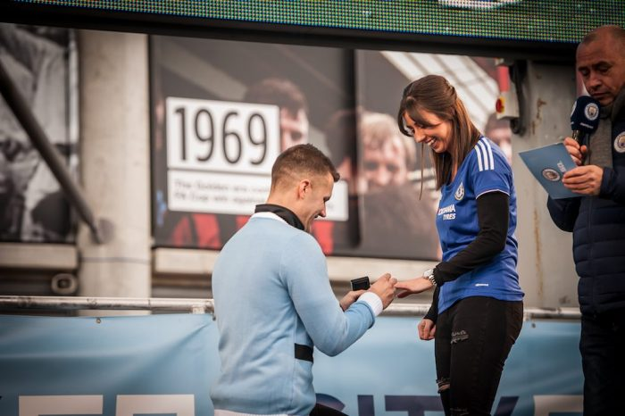 Engagement Proposal Ideas in Manchester City Football Club