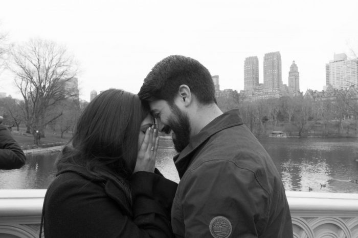 Where to Propose in Central Park, Bow Bridge