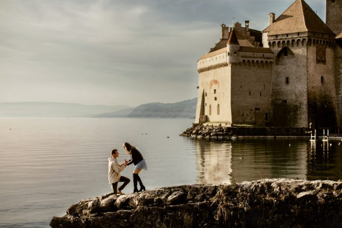 Where to Propose in Montreux, Switzerland
