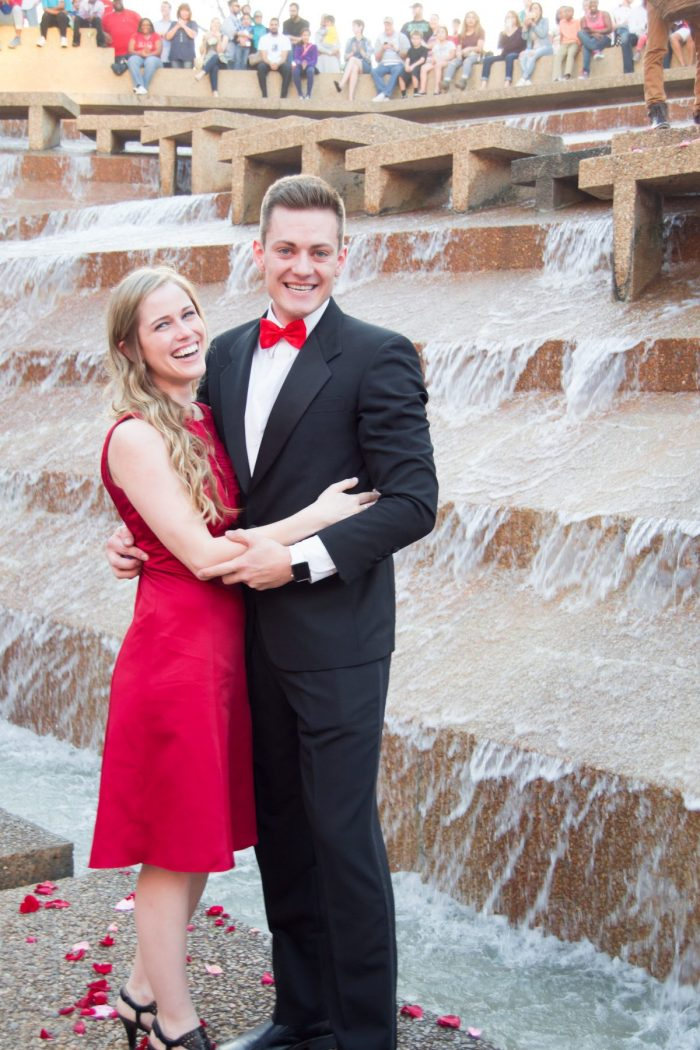 Where to Propose in Fort Worth Water Gardens