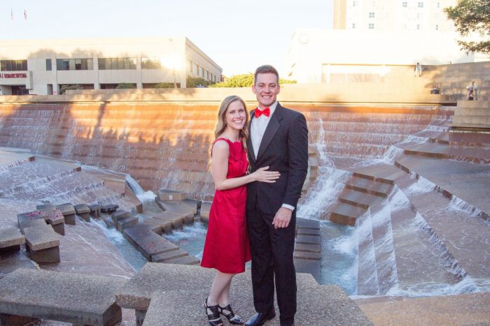 Marriage Proposal Ideas in Fort Worth Water Gardens