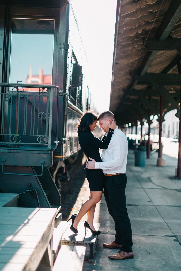 Emily's Proposal in Railway station, Tennessee