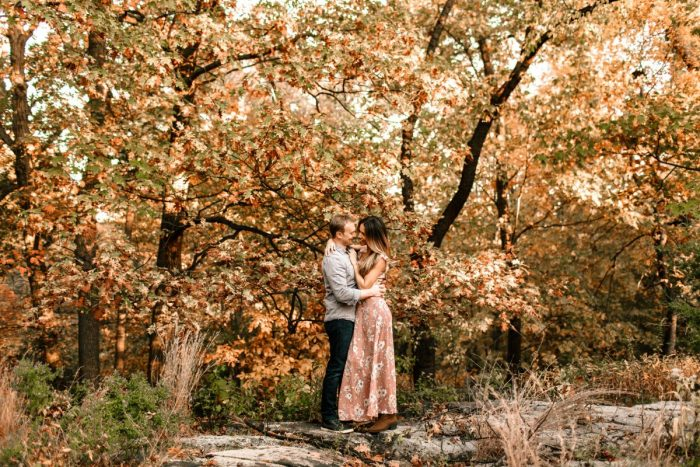 Codie and Weston's Engagement in Where we met. Stuyvesant town NYC