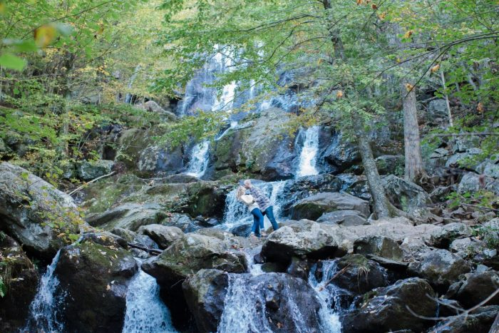 Engagement Proposal Ideas in Appalachian Trail, Spy Rock, VA