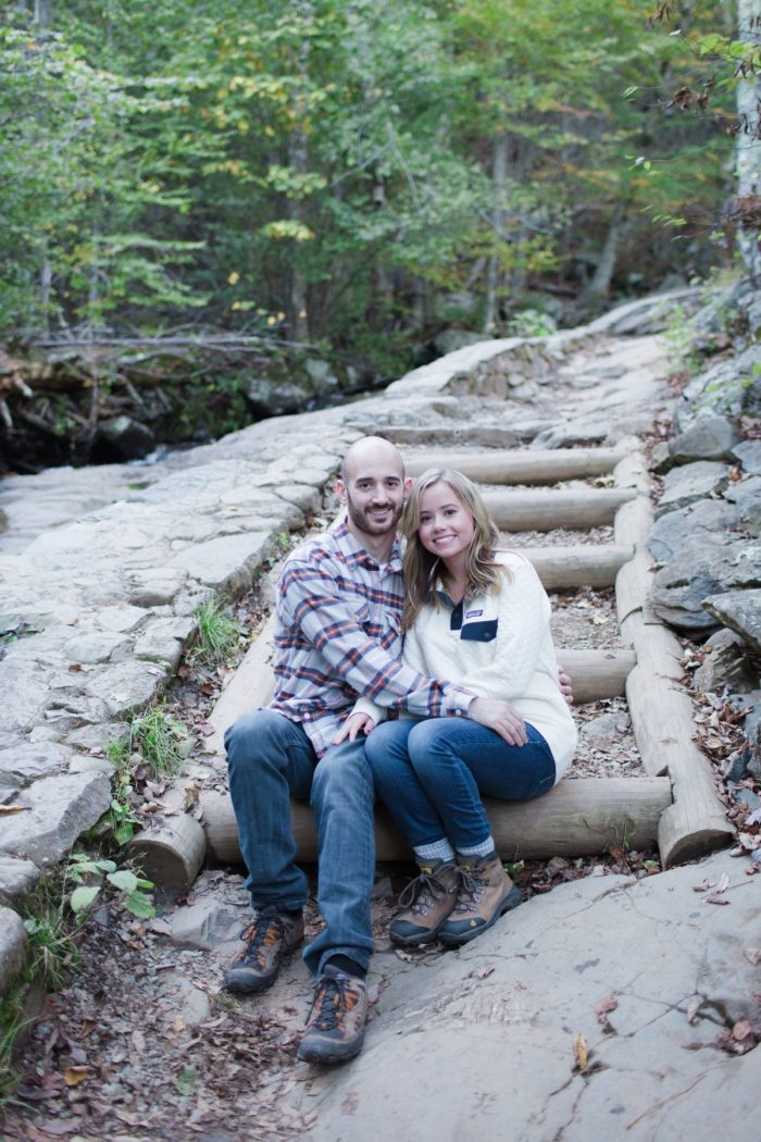 Where to Propose in Appalachian Trail, Spy Rock, VA