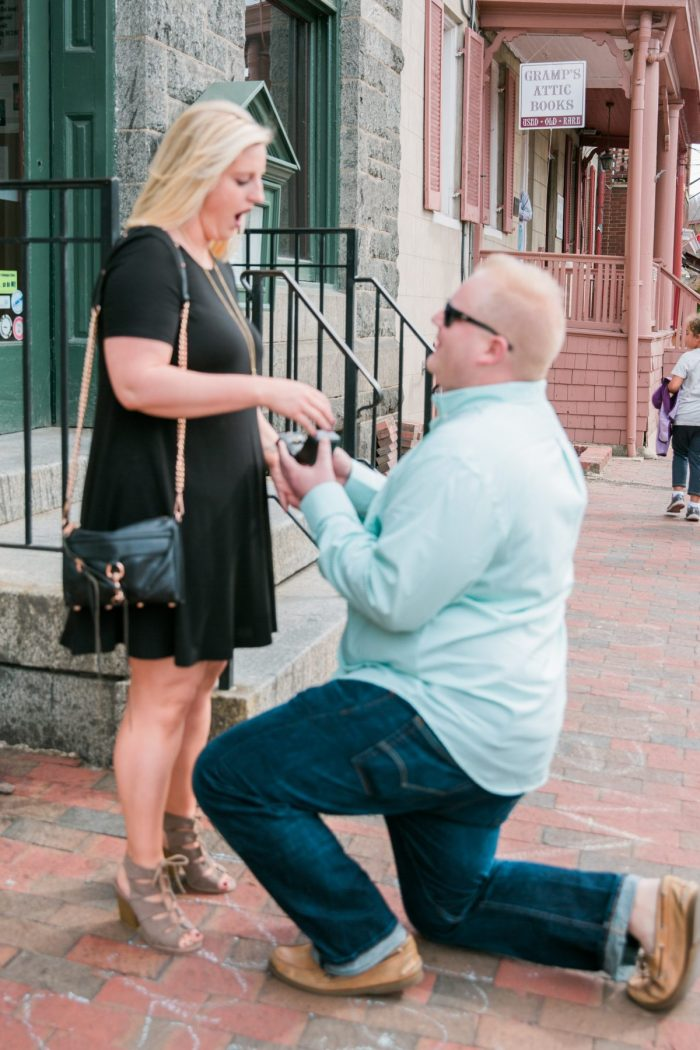 Marriage Proposal Ideas in Historic Ellicott City, MD