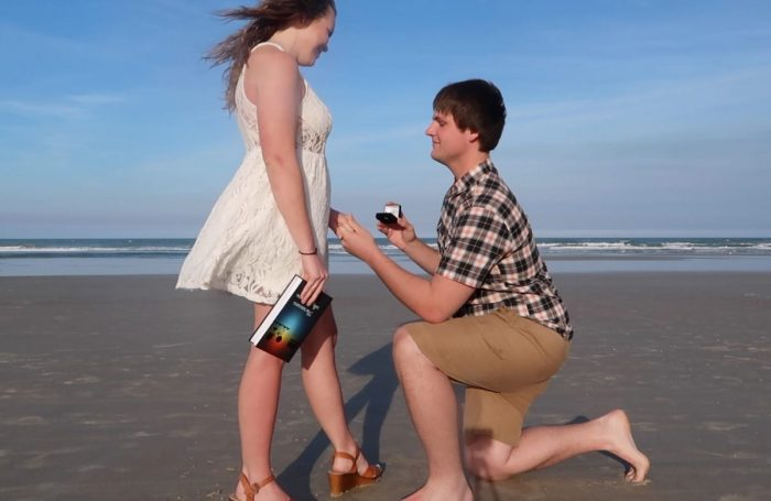 Megan and Kyle-ray's Engagement in Dayton Beach, Florida