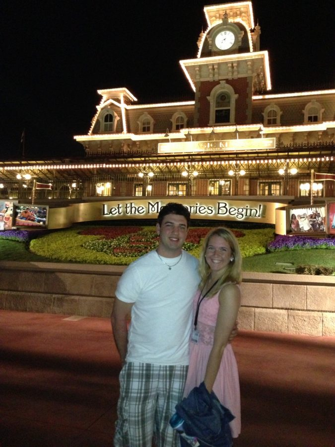 Courtney and Eric's Engagement in Disneyland