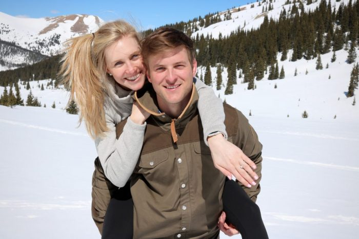 Marriage Proposal Ideas in Mayflower Gulch, Colorado