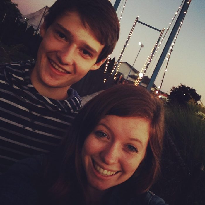 Engagement Proposal Ideas in Grand Rapids Michigan Millennium Park