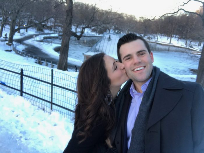 Alicia's Proposal in Central Park, New York City
