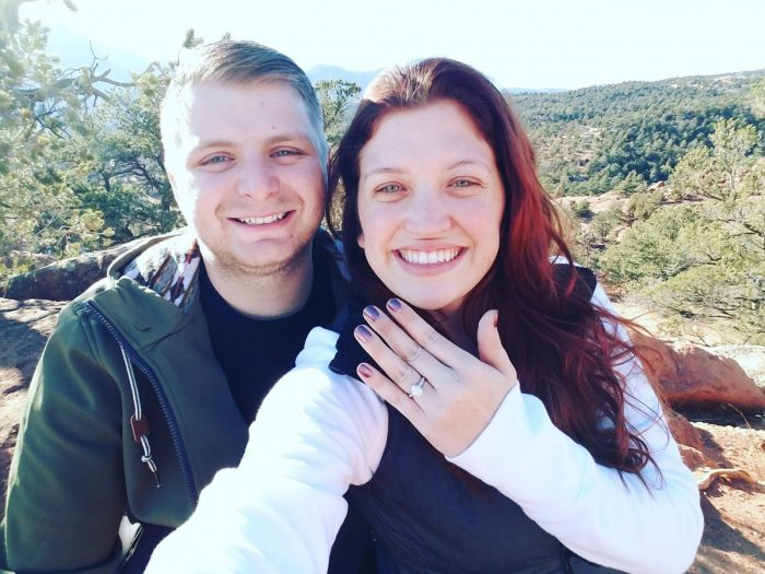 Where to Propose in Garden of the gods in Colorado