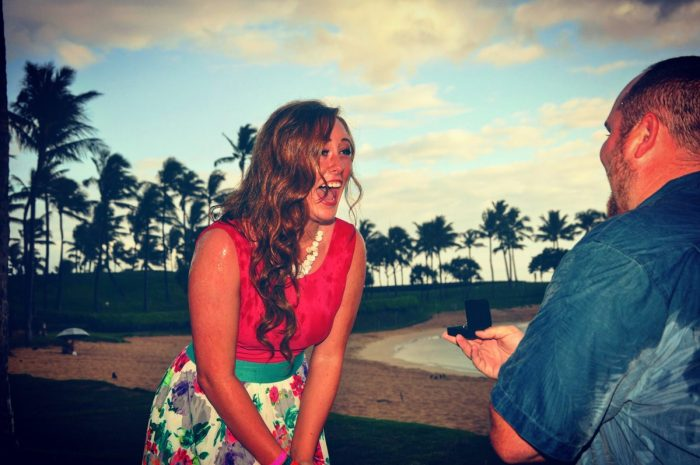 Courtney's Proposal in Oahu, Hawaii