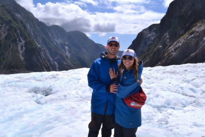 Alexis and Danny's Engagement in Franz Josef Glacier, New Zeland
