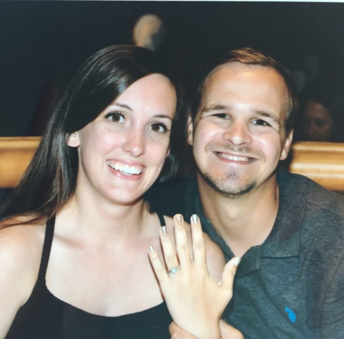Hannah's Proposal in On a cruise to Cozumel.