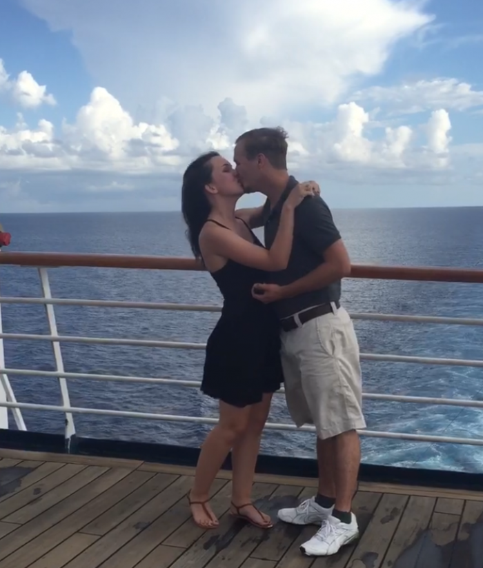 Marriage Proposal Ideas in On a cruise to Cozumel.