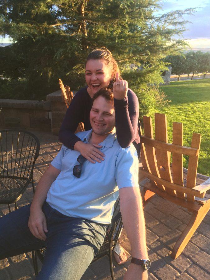 Briana and Robert's Engagement in Richland, WA
