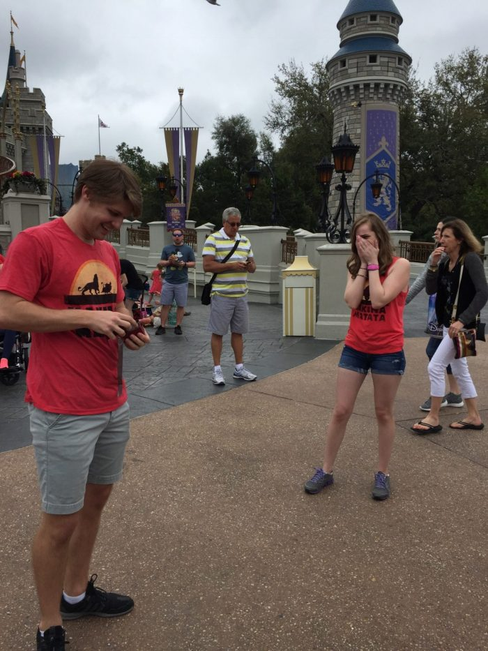 Alyssa's Proposal in Disney World (Magic Kingdom)