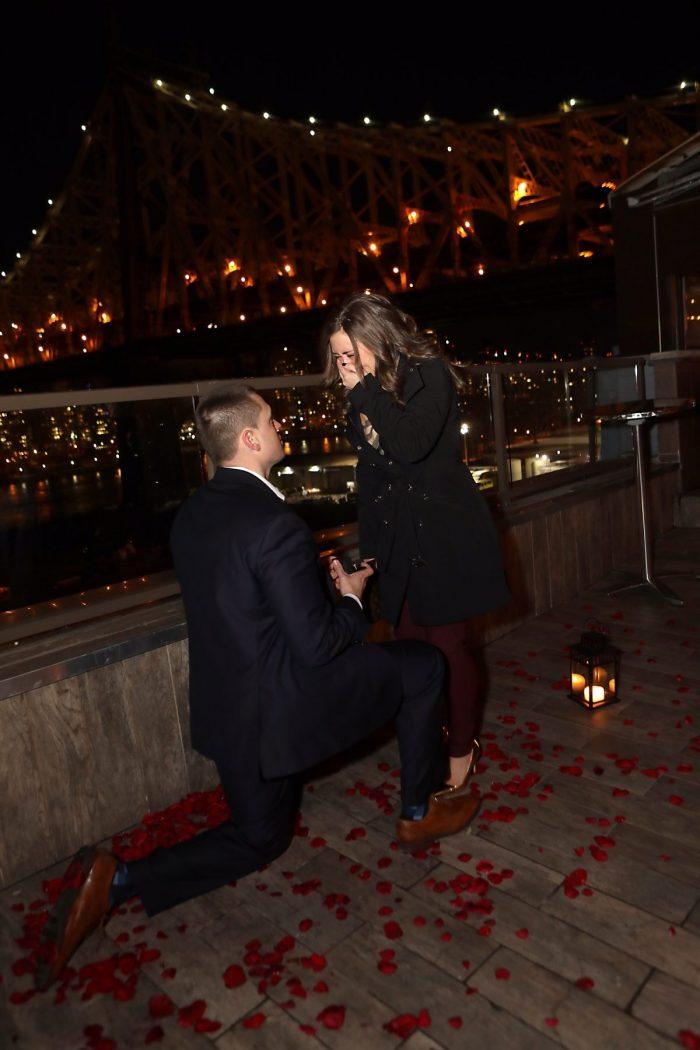 Wedding Proposal Ideas in Ravel Hotel in Long Island City
