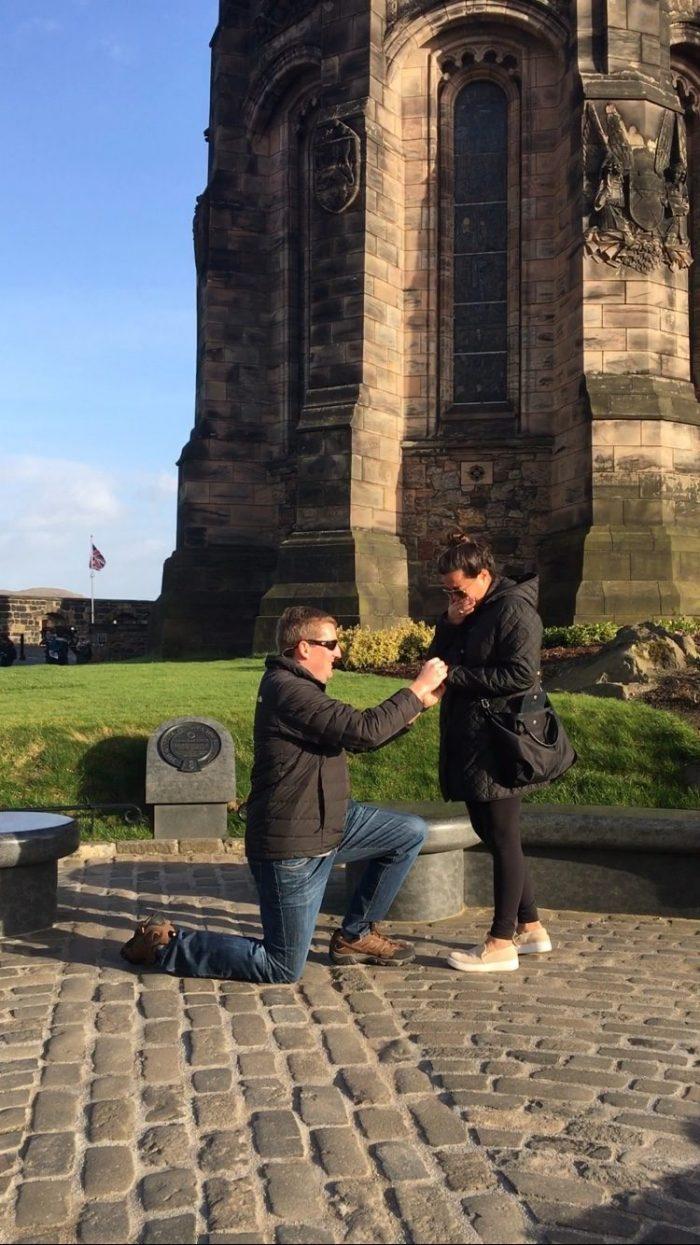 Proposal Ideas Edinburgh, Scotland