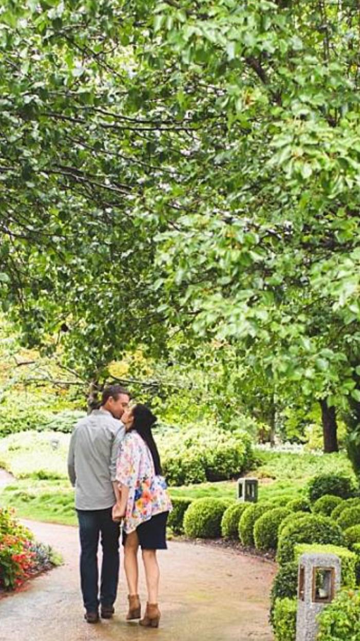 Engagement Proposal Ideas in Hunter valley gardens. Nsw Australia