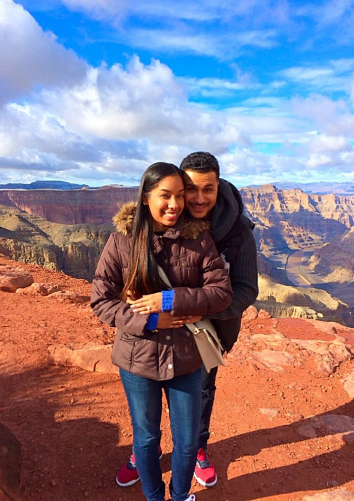 Elena and David's Engagement in The Grand Canyon