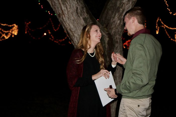 Charly's Proposal in San Angelo, TX