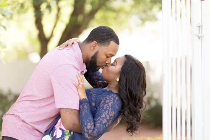 Ebony and Ranell Tillery's Engagement in New Orleans