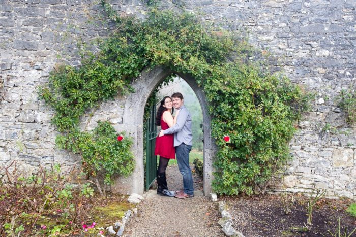 Stefanie And Anthony S Proposal On The Knot S Howheasked Com