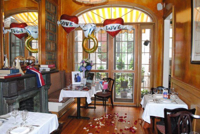Proposal Ideas Amanda's Restaurant in Hoboken, NJ