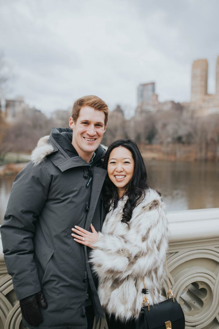 Where to Propose in Central Park - Bow Bridge