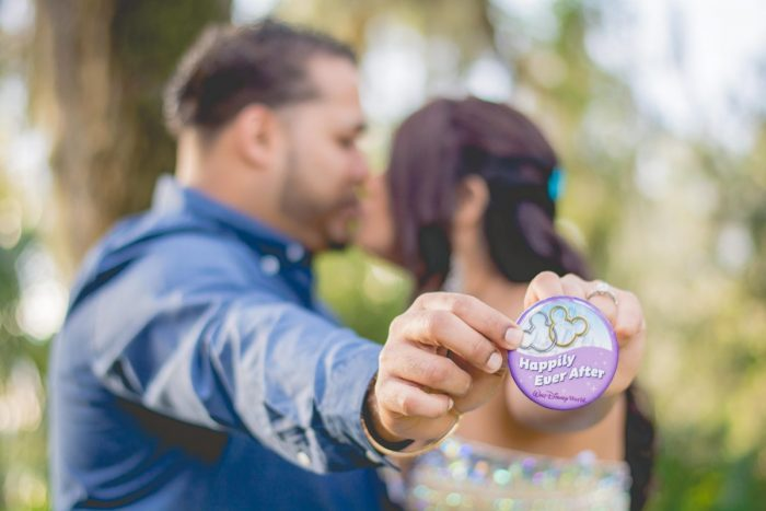 Christina and Randy's Engagement in Cinderella's Royal Table at Disney Magic Kingdom