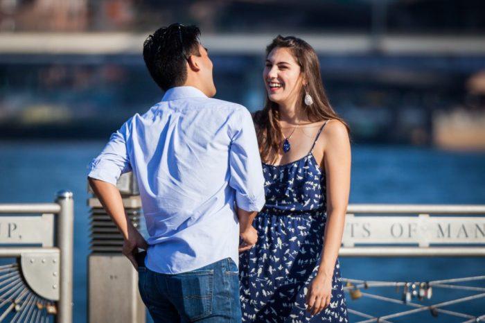 Elena's Proposal in Brooklyn Bridge Park
