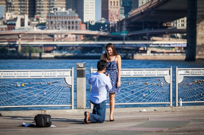 Where to Propose in Brooklyn Bridge Park